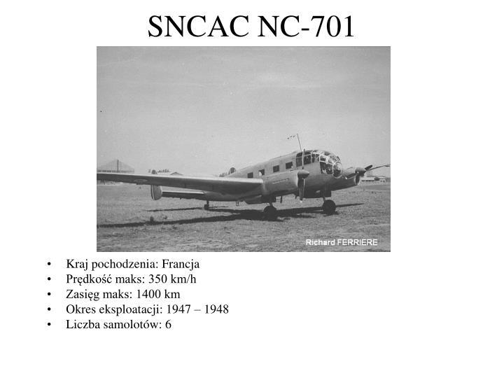 SNCAC NC-701