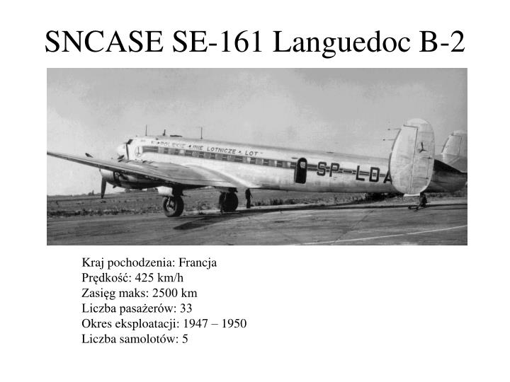 SNCASE SE-161 Languedoc B-2