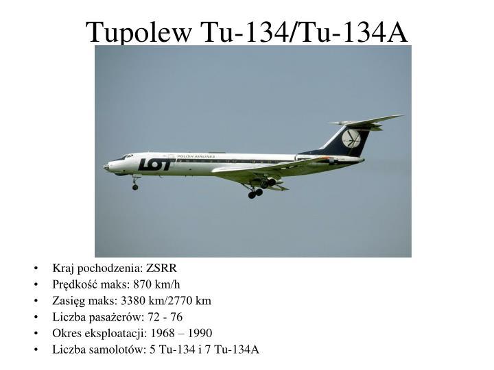 Tupolew Tu-134/Tu-134A