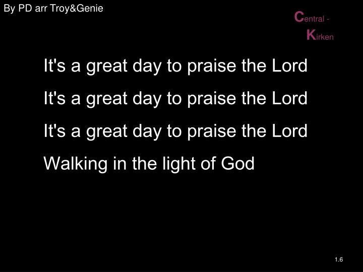 By PD arr Troy&Genie