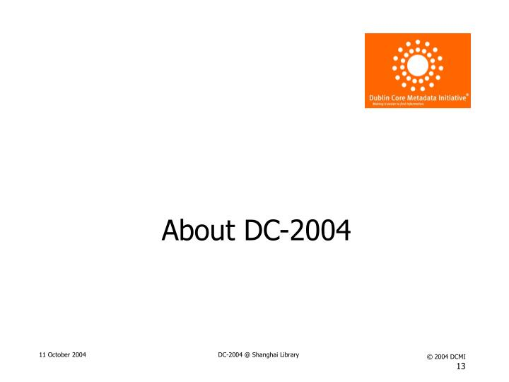 About DC-2004