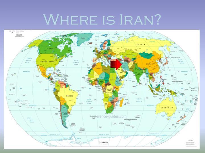 Where is Iran?