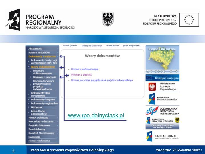 www.rpo.dolnyslask.pl