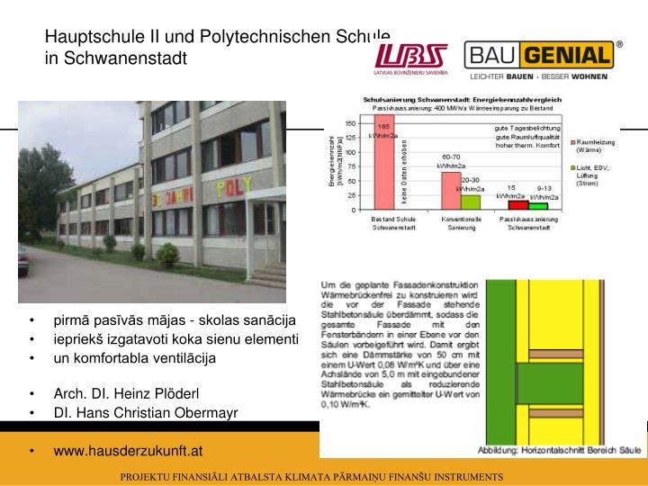 Hauptschule II und Polytechnischen Schule