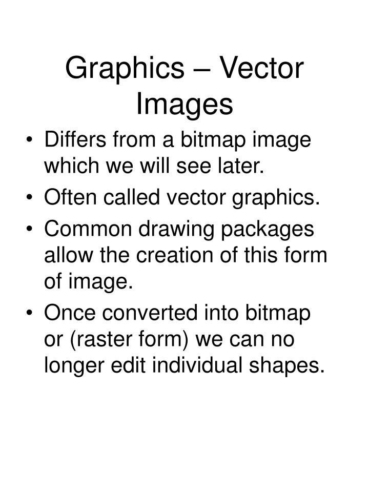 Graphics – Vector Images