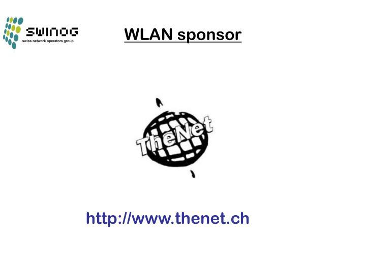 WLAN sponsor