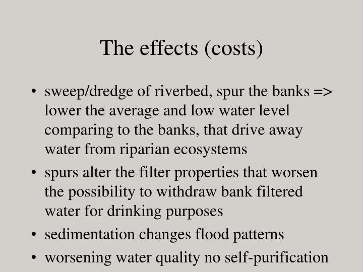The effects (costs)
