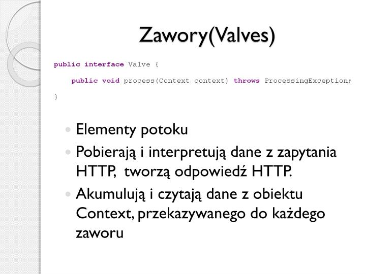 Zawory(