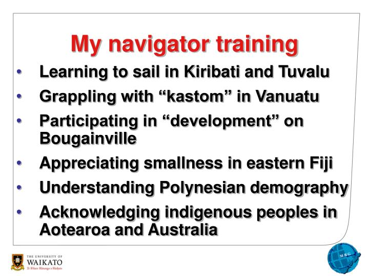 Learning to sail in Kiribati and Tuvalu