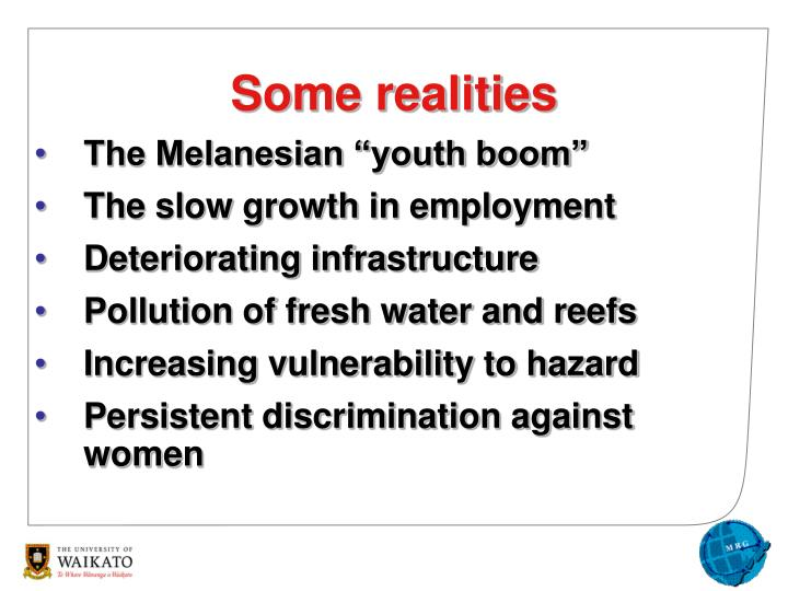 "The Melanesian ""youth boom"""