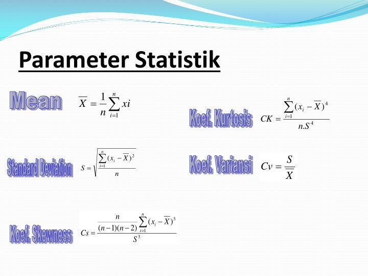 Parameter Statistik