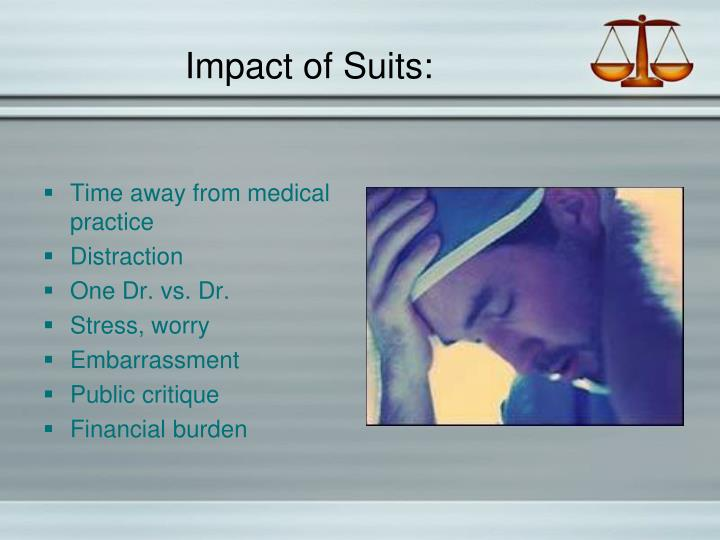 Impact of Suits: