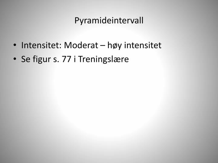 Pyramideintervall