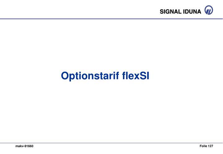 Optionstarif flexSI