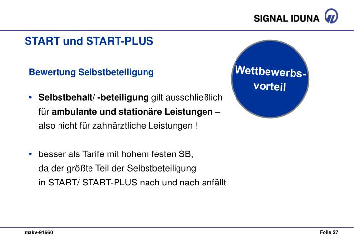 START und START-PLUS