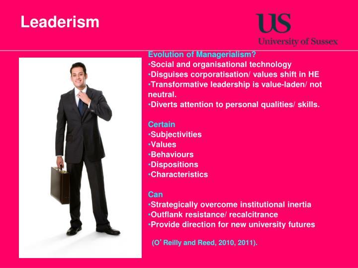 Leaderism
