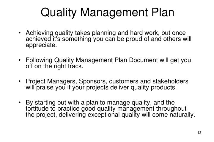 ppt lecture 8 project quality management quality