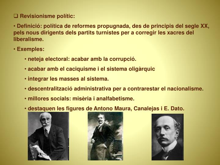 Revisionisme polític: