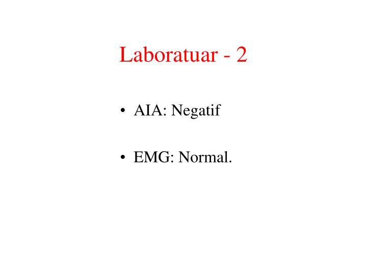 Laboratuar - 2