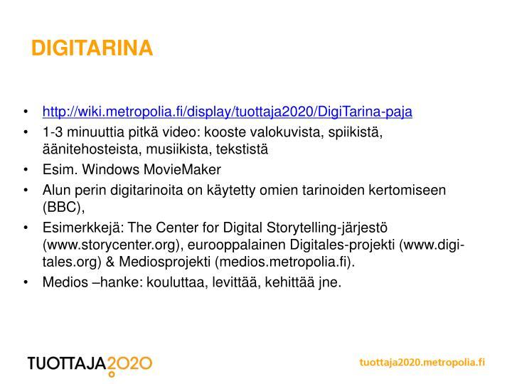 DigiTarina