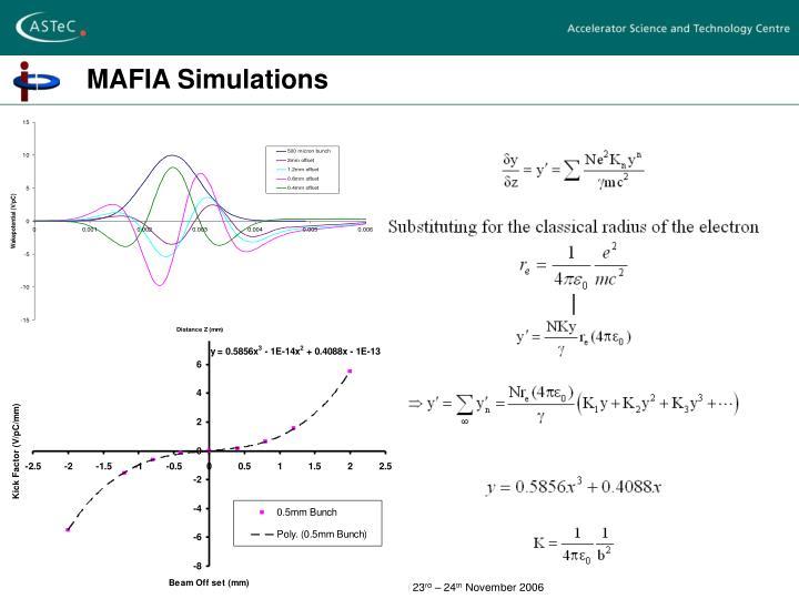MAFIA Simulations