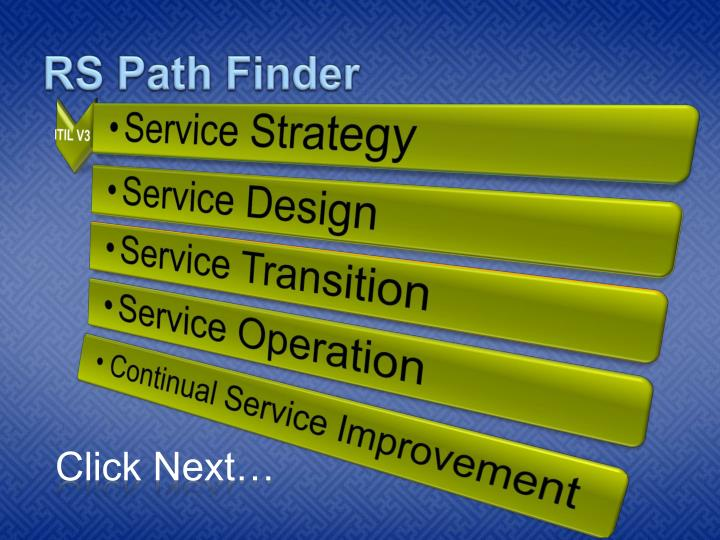 Rs path finder2