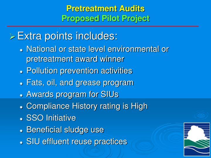 Pretreatment Audits