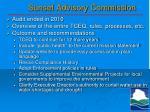 sunset advisory commission