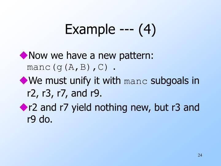 Example --- (4)