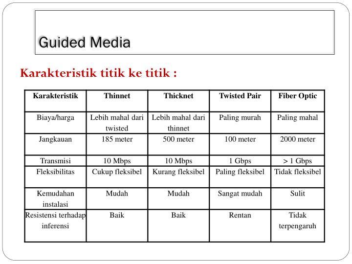 Guided Media