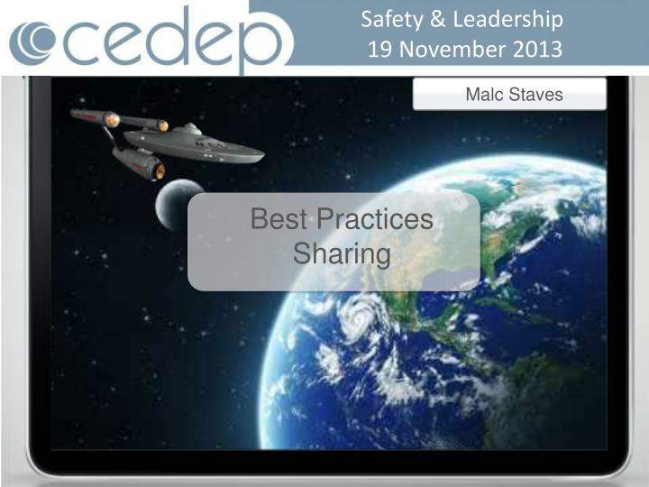 Safety & Leadership