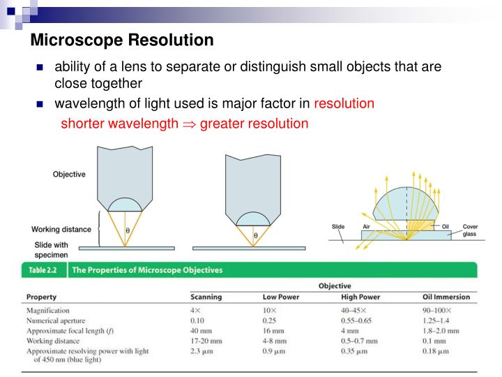 Microscope Resolution