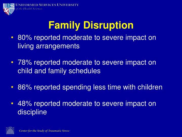 Family Disruption