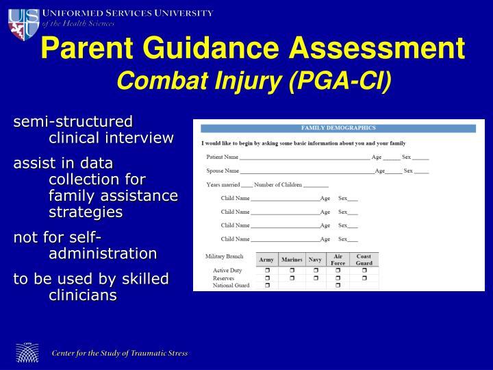 Parent Guidance Assessment
