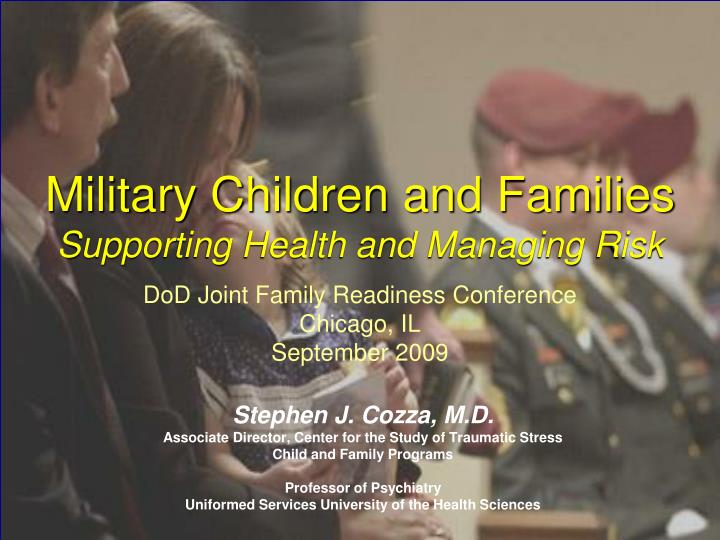 Military Children and Families