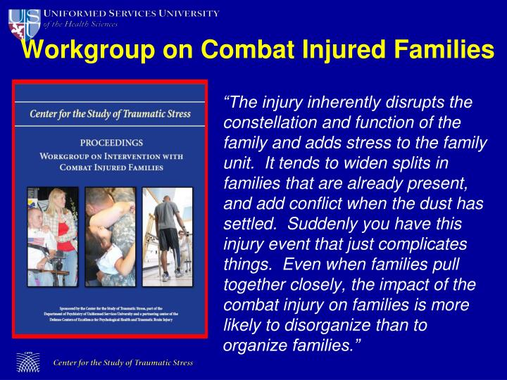 Workgroup on Combat Injured Families