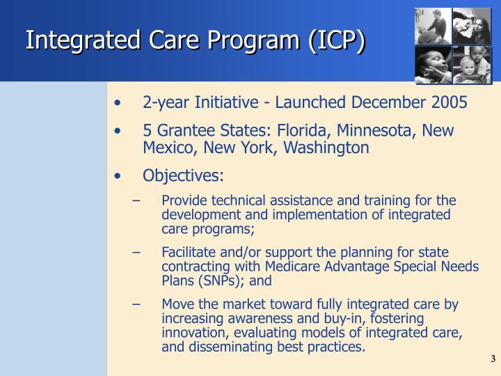Integrated Care Program (ICP)