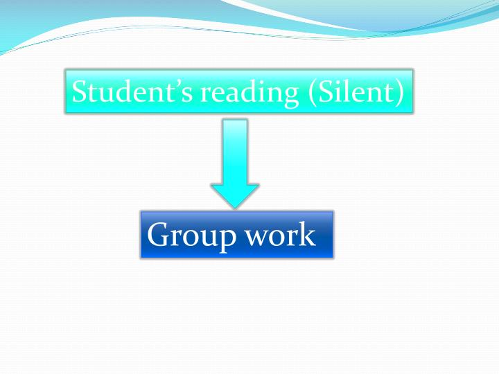 Student's reading (Silent)