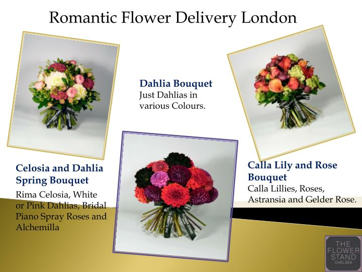 Romantic Flower Delivery London