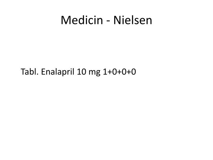 Medicin - Nielsen