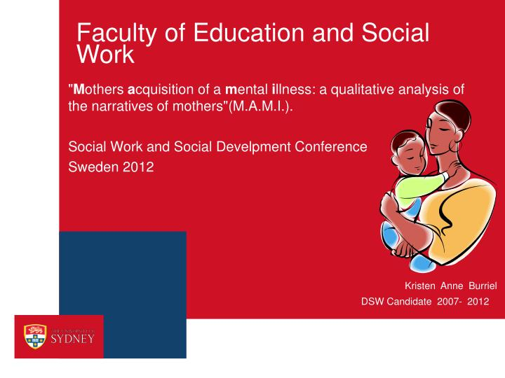 Faculty of education and social work