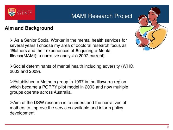 Mami research project