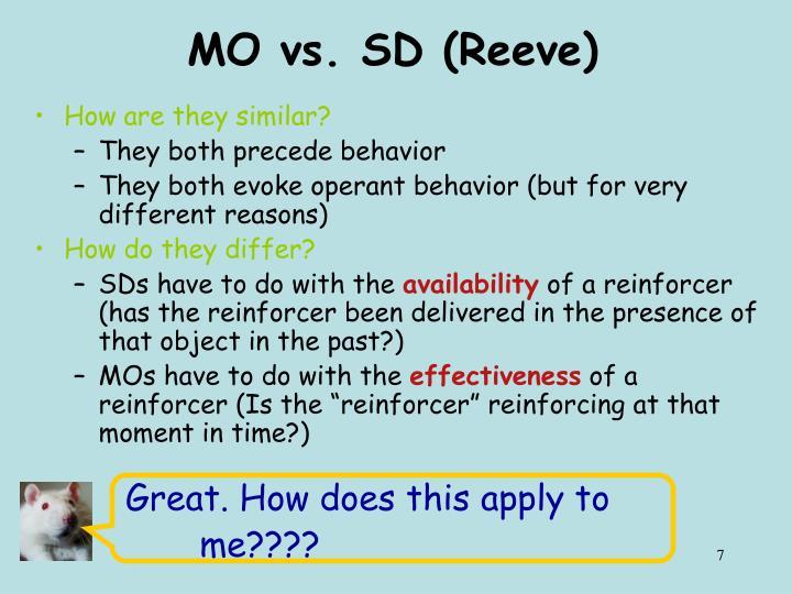 MO vs. SD (Reeve)