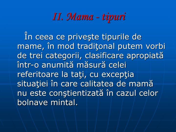 II. Mama -