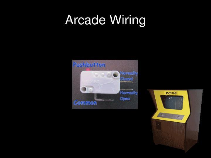 Arcade Wiring