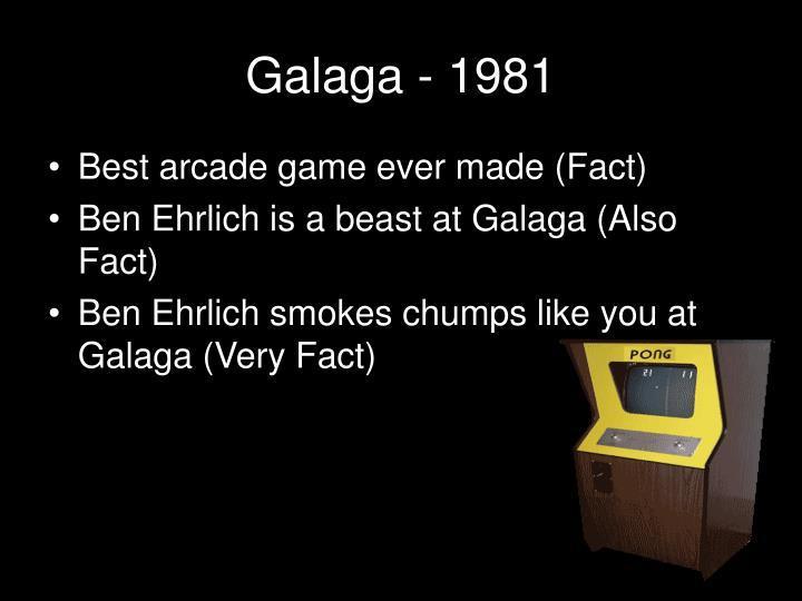 Galaga - 1981