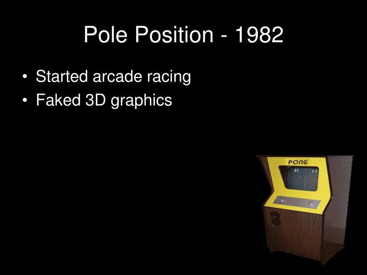 Pole Position - 1982
