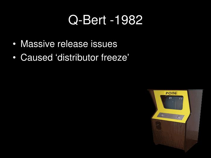 Q-Bert -1982