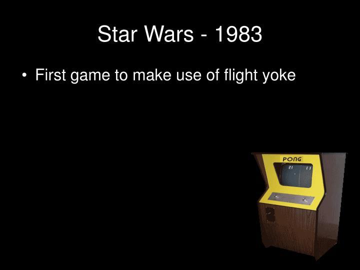Star Wars - 1983