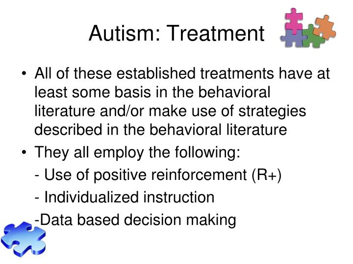Autism: Treatment